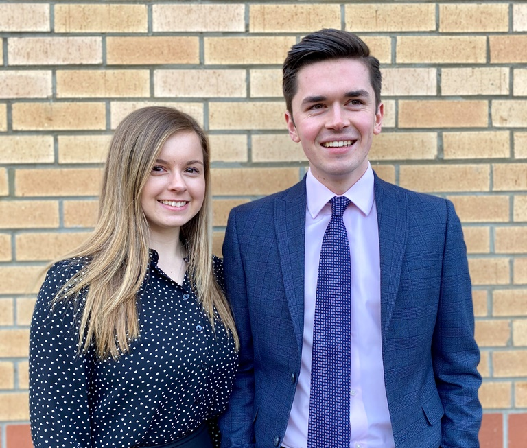 Moore East Midlands Accountancy Apprentices Natasha and Myles